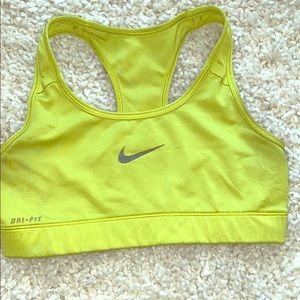 Nike Dri-fit women's sports bra size small